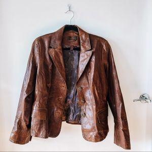 Brown Danier Leather Jacket